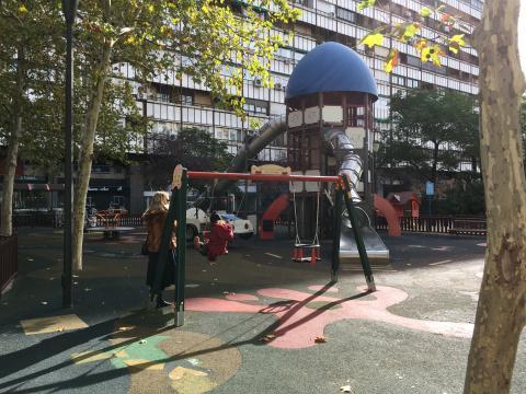 Barrio Salamanca: Parque infantil