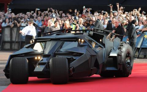 """The Batmobile """"Tumbler"""" and its successors in the films that followed offered a militaristic take on the Dark Knight's ride — and further Cybertruck inspiration from Hollywood."""
