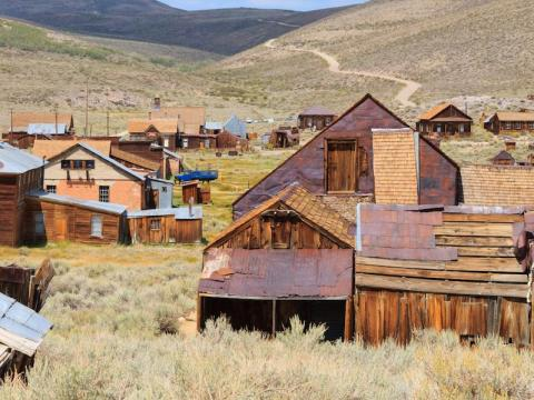 This ghost town will take you back to the Wild West.