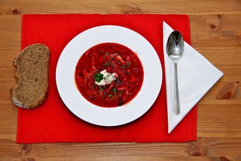 Borscht, sopa ucraniana