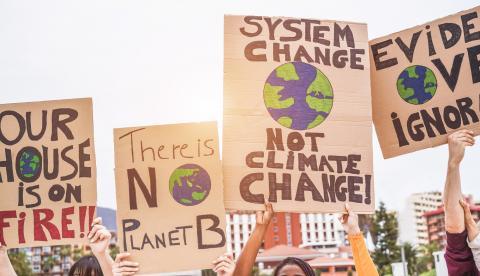 Cambio climático huelga