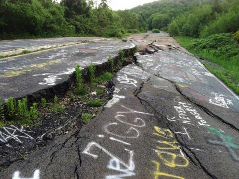 Centralia has been on fire for over 50 years.