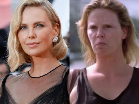 "Charlize Theron protagonizó ""Monster."""