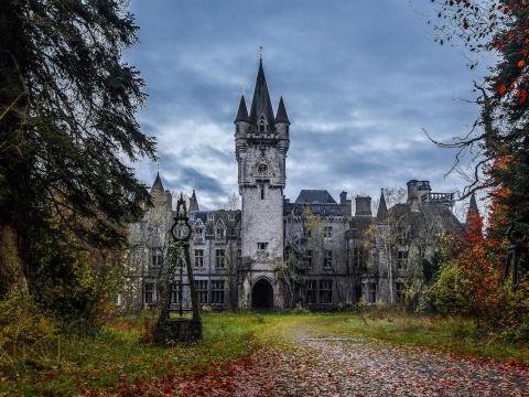 Chateau Miranda is an abandoned orphanage.