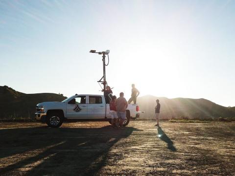 Las torres de Anduril están diseñadas para detectar amenazas en un área concreta.
