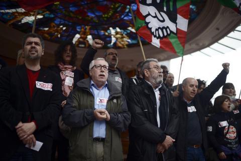 Comisiones obreras sindicatos UGT