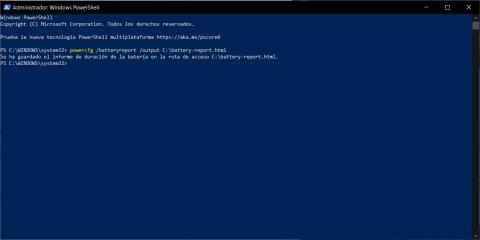Cómo saberel estado de la batería de tu portátil Windows
