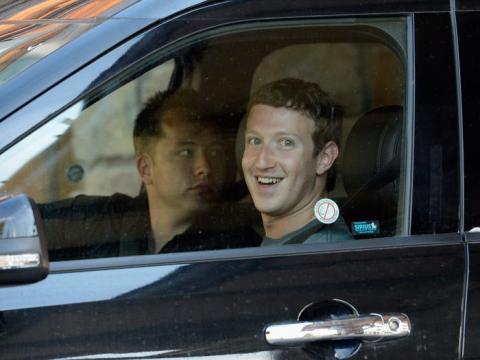 Conducir por Silicon Valley es clave para llegar a tiempo a las reuniones.