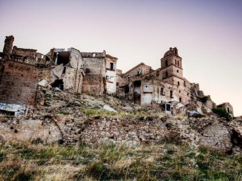 Craco survived earthquakes and landslides before being abandoned in 1991.