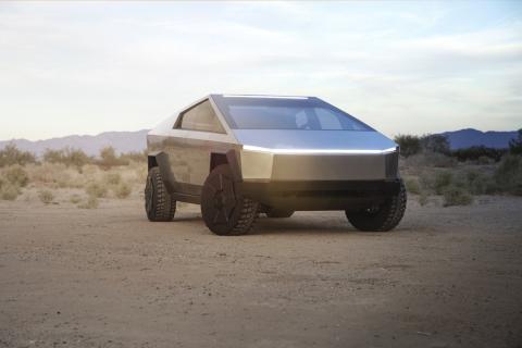 Cybertruck, la nueva pickup eléctrica de Tesla.