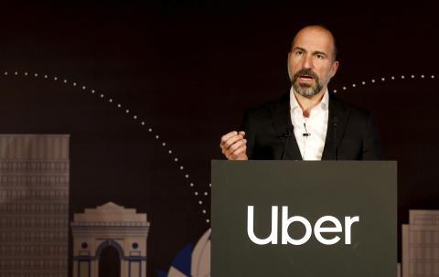 Dara Khosrowshahi es un empresario iraní-estadounidense y el director ejecutivo de Uber.