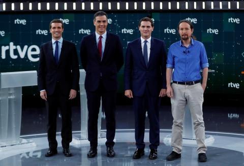 Debate a 4, abril 2019