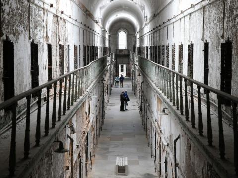 Eastern State Penitentiary was once the most famous prison in the world.