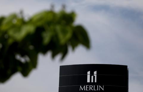 Un edificio de Merlin Properties en Madrid