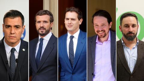 Elecciones Generales 2019: debate a 5