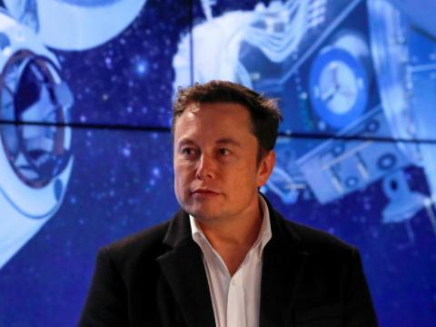 Elon Musk, CEO of Tesla and SpaceX.