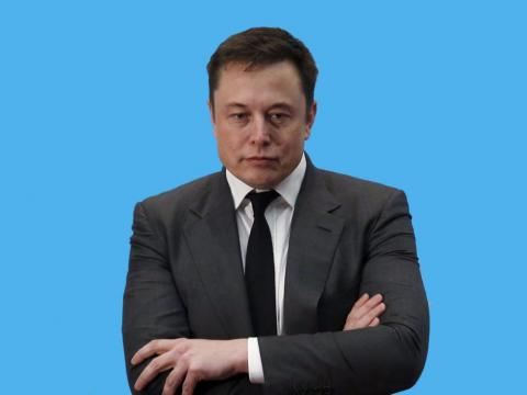 Elon Musk serio