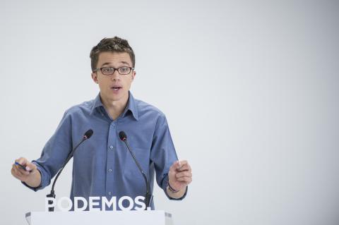 Errejón, cuando era miembro de Podemos.