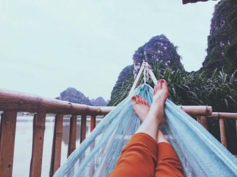 Hay muchas oportunidades para relajarse.