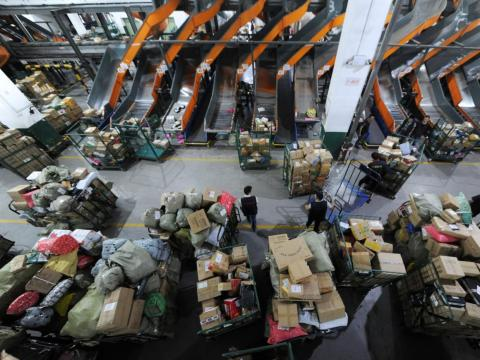 An estimated 200,000 brands participated in Alibaba's Singles' Day sales, according to the company.
