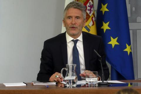 Fernando Grande-Marlaska, ministro de Interior.
