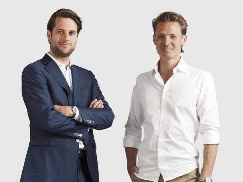 Los fundadores de Klarna Sebastian Siemiatkowski y Niklas Adalberth