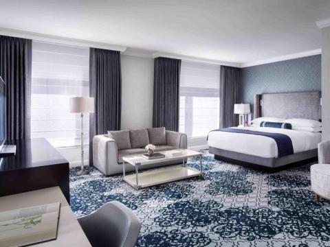 Una habitación en el Ritz Carlton de San Francisco.
