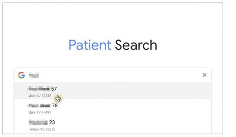 Google Patient Search
