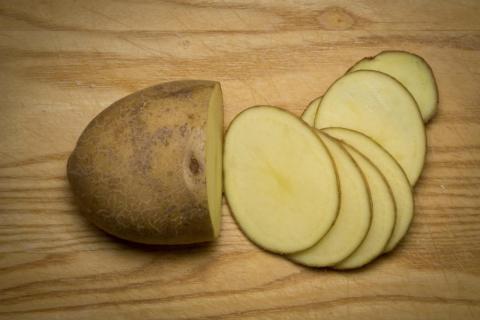 Please wait until your potato ripens!