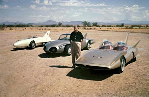 Harley Earl's Dream Cars remind us that it's OK to show extremely out-there designs.