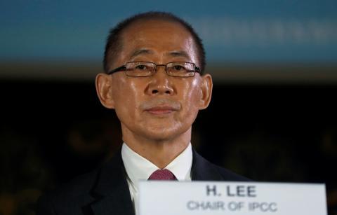 Hoesung Lee, presidente del IPCC
