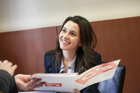 """[LA VUELTA A LA TORTILLA] [Luz y taquígrafos] Inés Arrimadas: """"El referéndum no sería democrático ni aunque el 100% de los catalanes votara SÍ"""" Ines-arrimadas_2"""