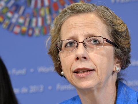 Inger Andersen,  Directora Ejecutiva del Programa de las Naciones Unidas para el Medioambiente UNEP