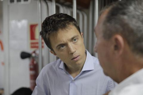 Íñigo Errejón en un acto electoral.