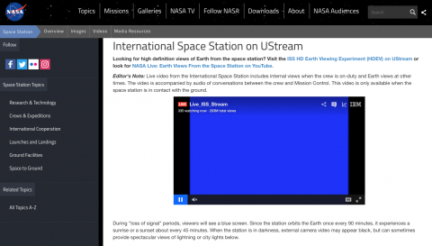 ISS Streaming