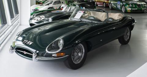 No es el Jaguar de Elon Musk.