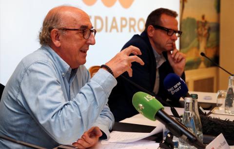 Jaume Roures, administrador único del grupo Mediapro.
