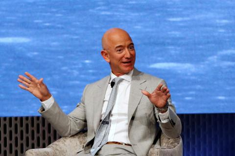 Jeff Bezos, CEO de Amazon y SpaceX