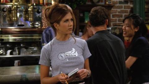 Jennifer Aniston como Rachel en 'Friends'.