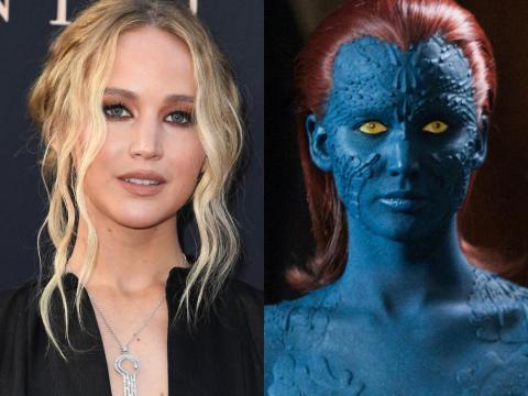 Jennifer Lawrence como Mystique.