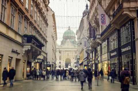 Kohlmarkt, Viena, Austria