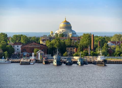 Kotlin, isla de Rusia.