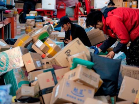 Last year, Alibaba took in an estimated $30.8 billion in sales.