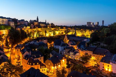Luxemburgo noche