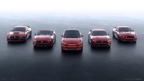 El Mach-E se unirá a la familia Mustang, nacida hace 55 años, a partir de finales de 2020.