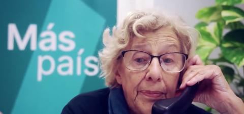Manuela Carmena, abogada laboralista, juez emérita y política española que fue alcaldesa de Madrid