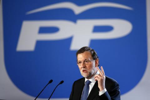 Mariano Rajoy, expresidente del gobierno.