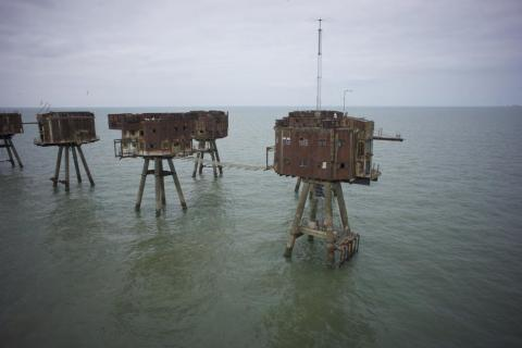 These forts have been abandoned since that 1950s.
