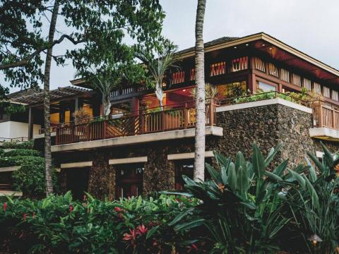 Four Seasons Resort Hualalai en Hawaii.