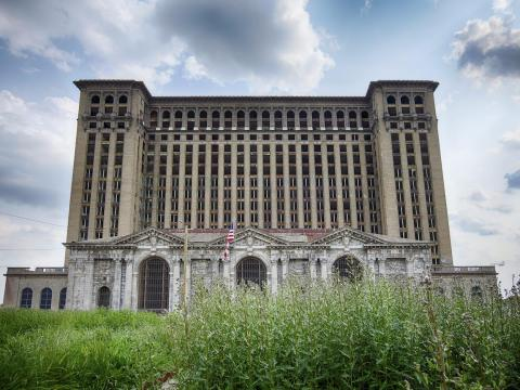 Michigan Central Station in Detroit used to be the tallest train station in the world.